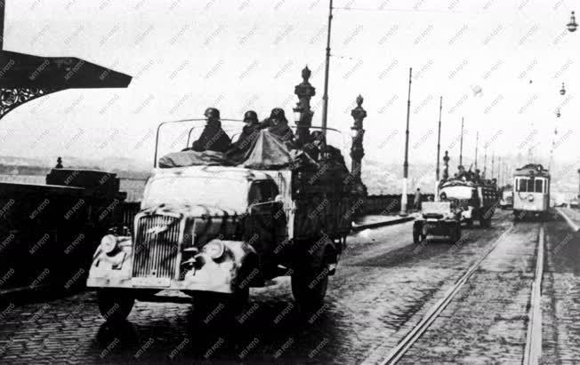 Történelem - II. világháború - Magyarország német megszállása
