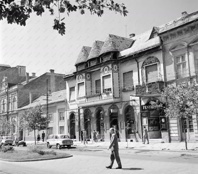 Városkép - Szolnoki utcakép