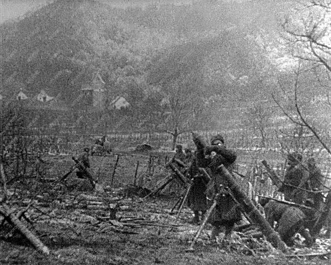 Történelem - II. világháború - Budapest ostroma