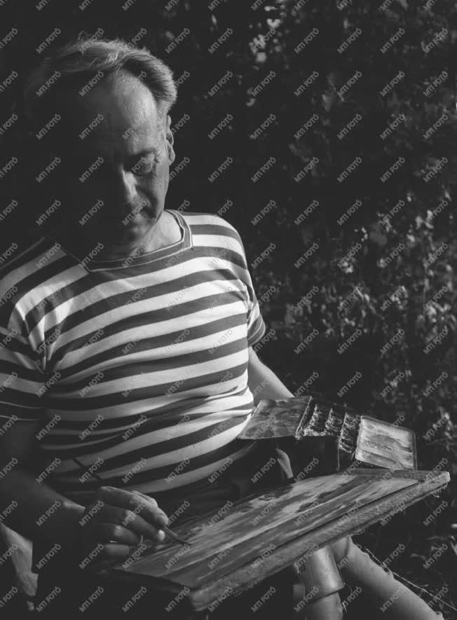 Képzőművészet - Szőnyi István festőművész