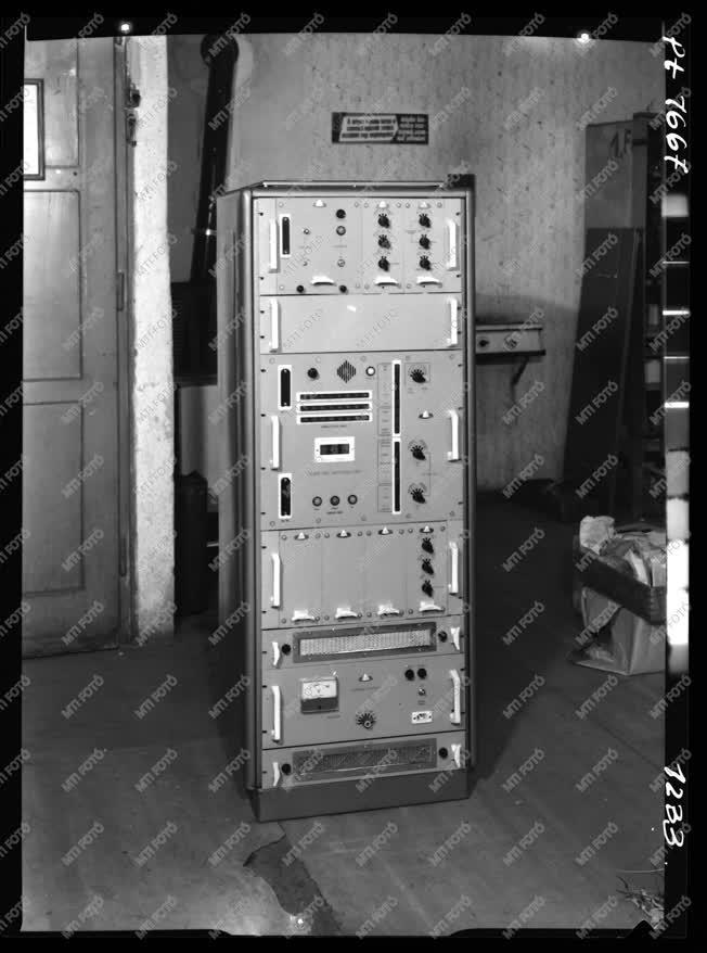 Geofizika - Elektromos labortorony