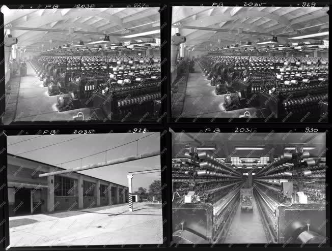 Ipar - Textilipar - Pesterzsébeti Kötöttárugyár