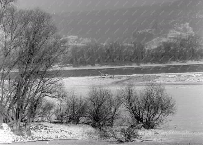 Városkép - Dunakanyar télen