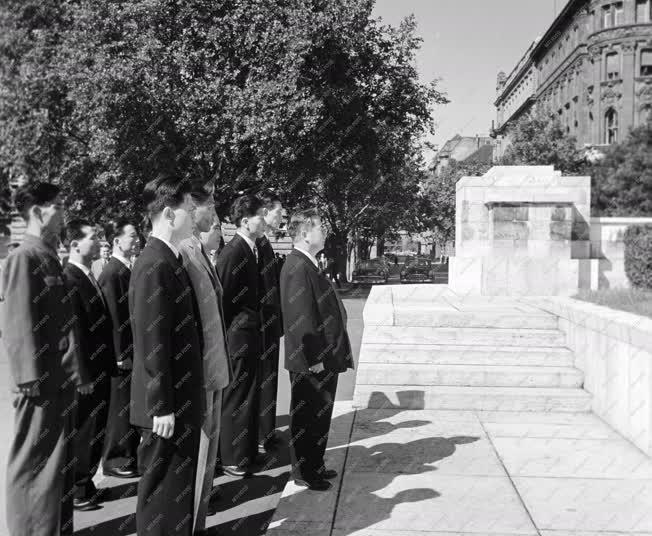 Külkapcsolat - Korea felszabadulásának 15. évfordulója