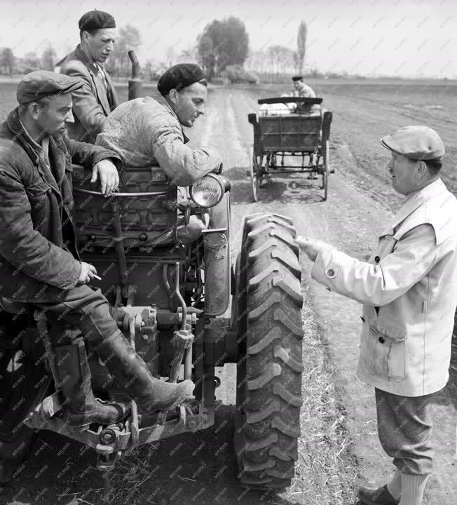 Mezőgazdaság - Az árpádhalmi Lenin Tsz