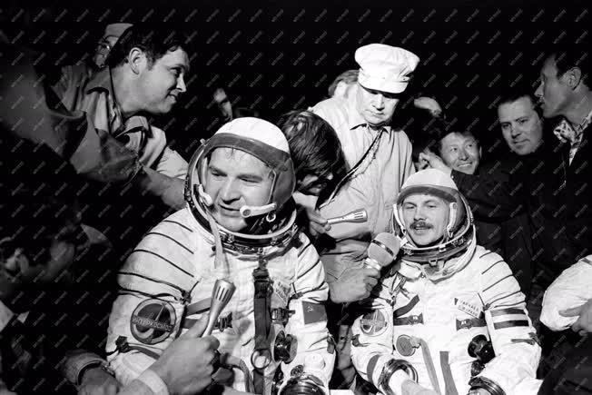 Űrhajózás - Szovjet-magyar közös űrrepülés