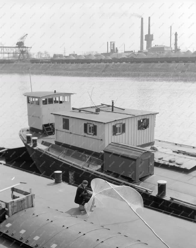 Vízi közlekedés  - Csepeli Szabadkikötő