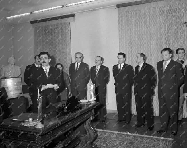 Külpolitika - Szovjet Magyar Kulturális munkaterv