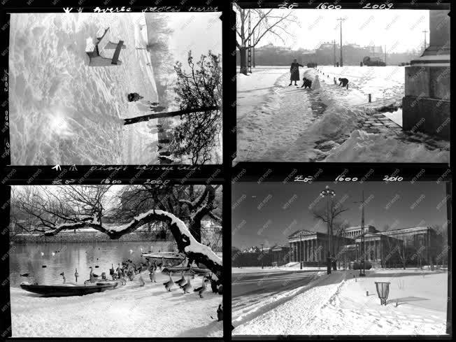 Városkép - Életkép - Téli budapesti képek - Budapest album