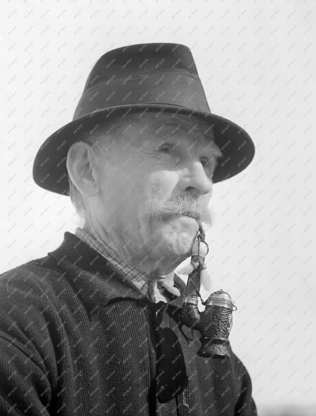 Személy - Novák József portréja