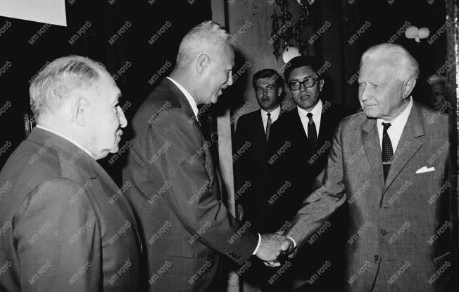 Külpolitika - Ludvik Svoboda látogatása Magyarországon