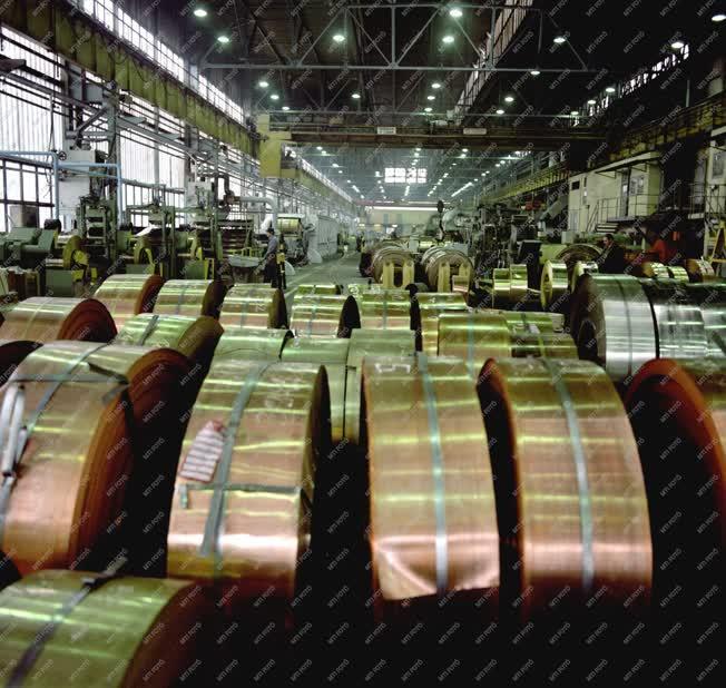 Ipar - A Csepel Művek célkitűzései a hatodik ötéves tervbe