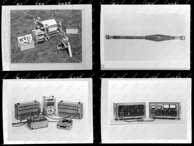 Ipar - Geofizikai műszerek
