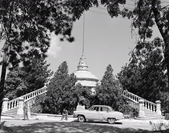 Városkép - Emlékmű - Széchenyi-hegyi kilátó