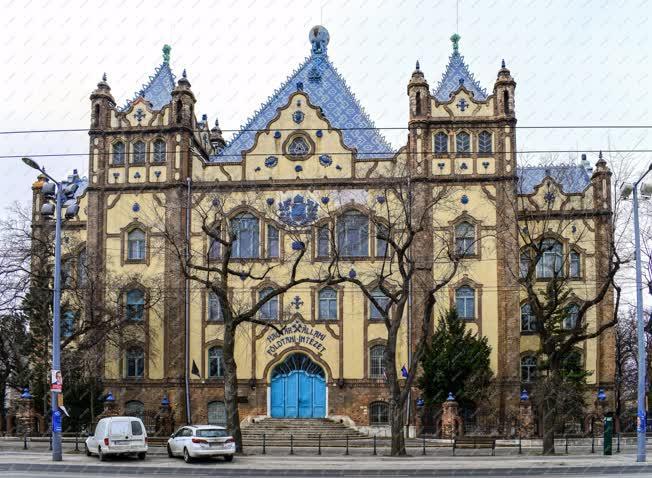 Épületfotó - Budapest - Magyar Földtani Intézet