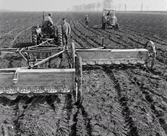 Mezőgazdaság - Tavaszi munkák Kabán