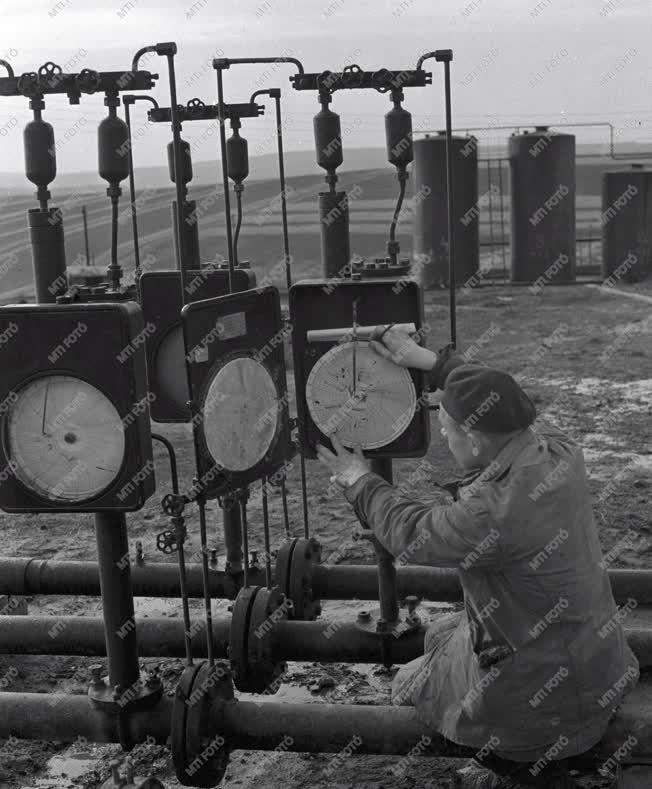 Energiaipar - Egri olajmező - Karbantartás