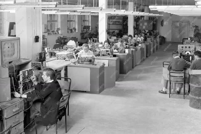 Gazdaság - Elektronikai ipar - Orion Gyár