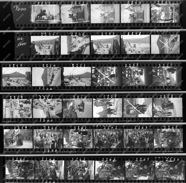 Városkép - Budapest Album - Pesti képek