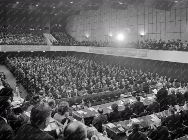 Belpolitika - zakszervezetek XX. kongresszusa