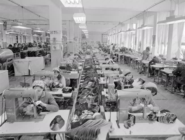 Ipar - A Tisza Cipőgyárban