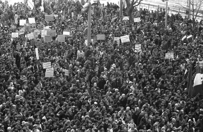 Belpolitika - Március 15-i megemlékezés
