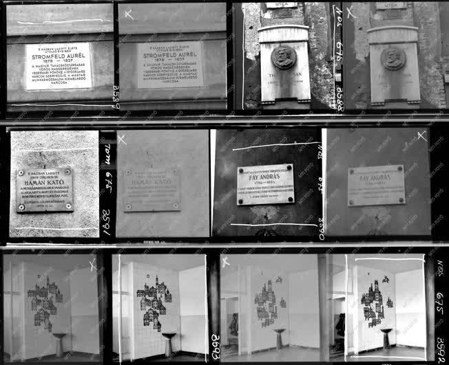 Városkép - Kultúra - Dombormű, emléktáblák