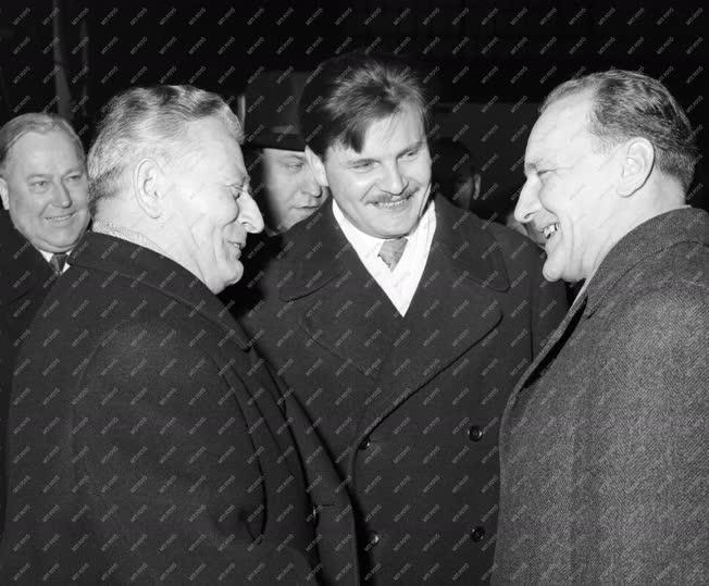 Külkapcsolat - Antonin Novotny látogatása Magyarországon