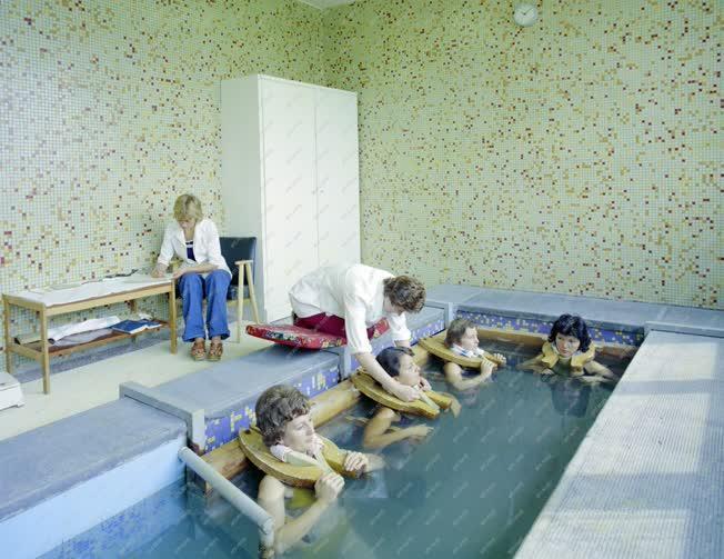 Egészségügy - A súlyfürdő a zalakarosi gyógyászati centrumban