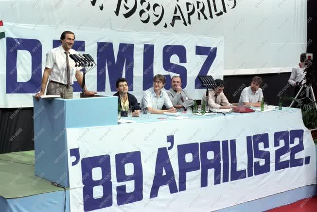 Belpolitika - DEMISZ I. országos gyűlése