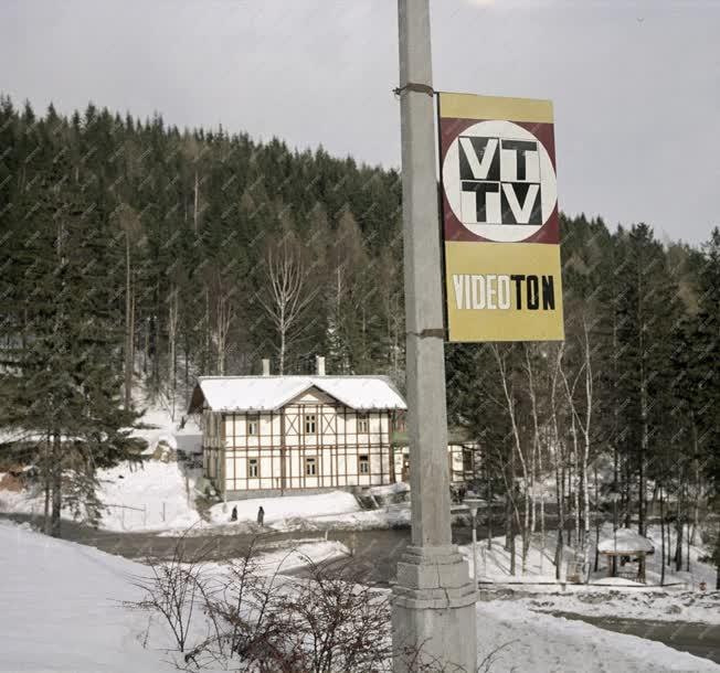 Tájkép - Téli Tátra Csehszlovákiában