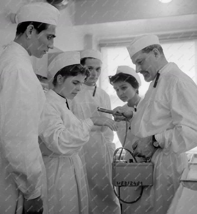 Oktatás - Új izotóp laboratórium a veszprémi egyetemen