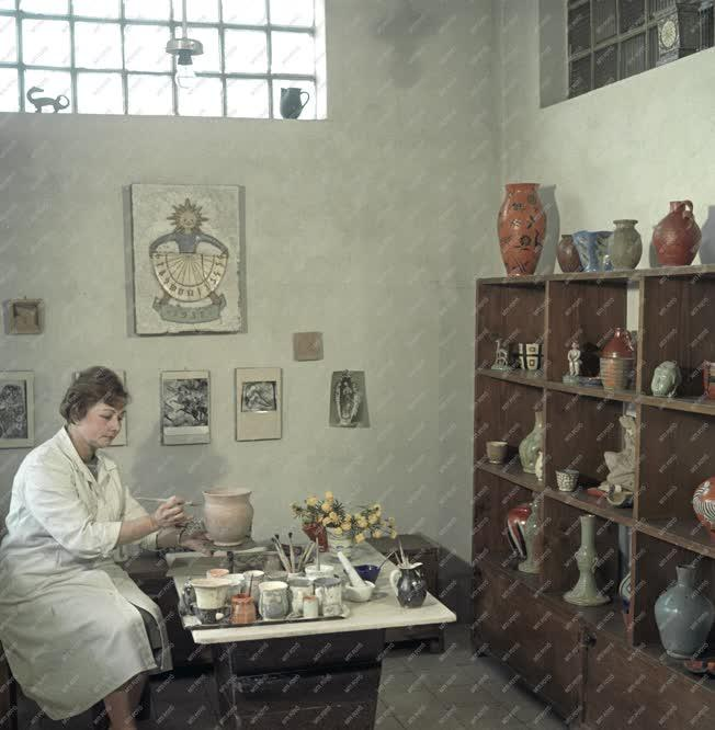 Kultúra - Cser Jolán keramikus