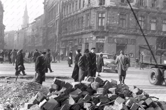 Belpolitika - Budapest az 1956-os forradalom és szabadságharc után