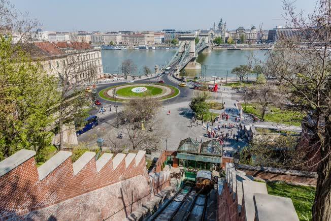 Városkép - Budapest - Budavári sikló