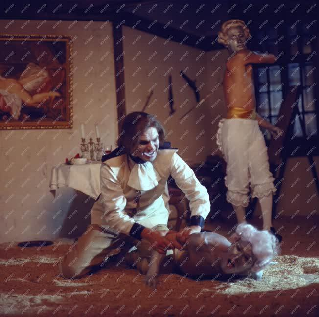 Kultúra - Film - Katonák című tv-film forgatása