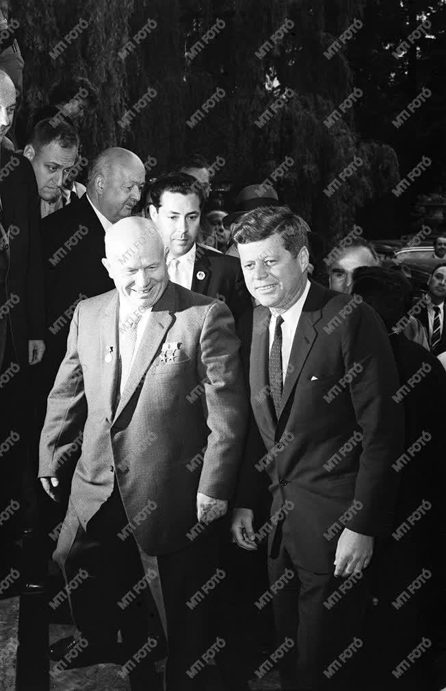 Hruscsov és Kennedy Bécsben