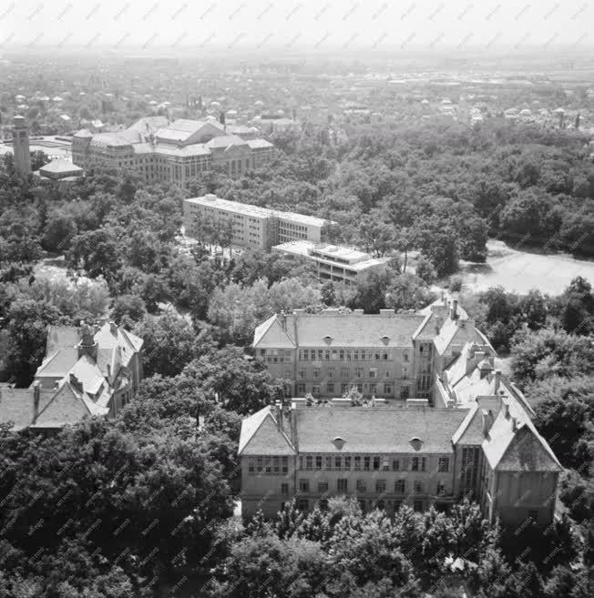 Városkép - Légi felvétel Debrecenről
