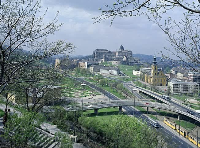 Városkép - Budai látkép a Gellért-hegyről