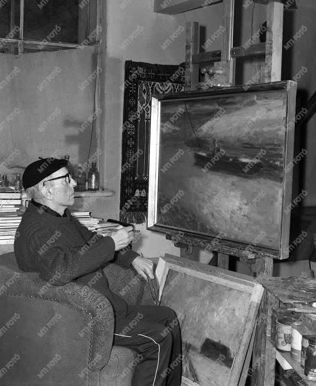 Chiovini Ferenc  Munkácsy-díjas festő