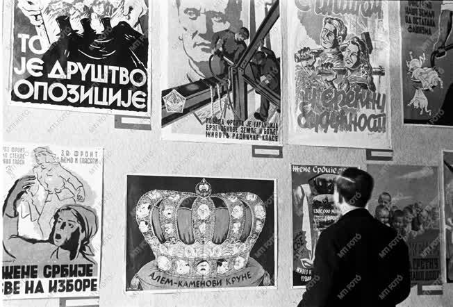 Kultúra - Külkapcsolat - Külföldi plakátok kiállítása