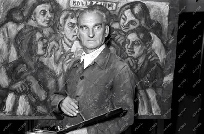 Kultúra - Festészet - Kmetty János