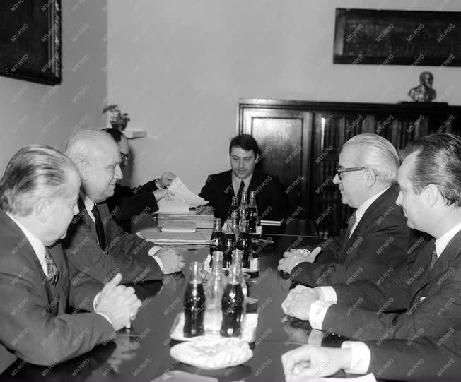 Külkapcsolat - Az olasz miniszterelnök-helyettes Budapesten