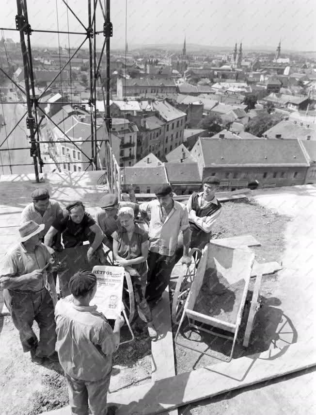 Építőipar - A Tyitov-brigád