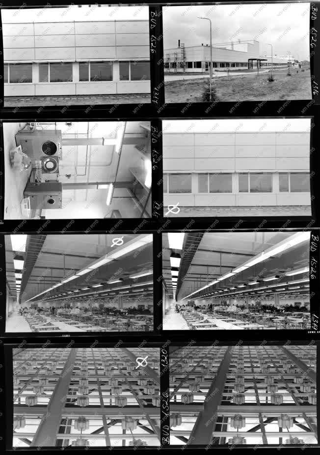 Ipar - Építkezés - Textilipari beruházás Mátészalkán