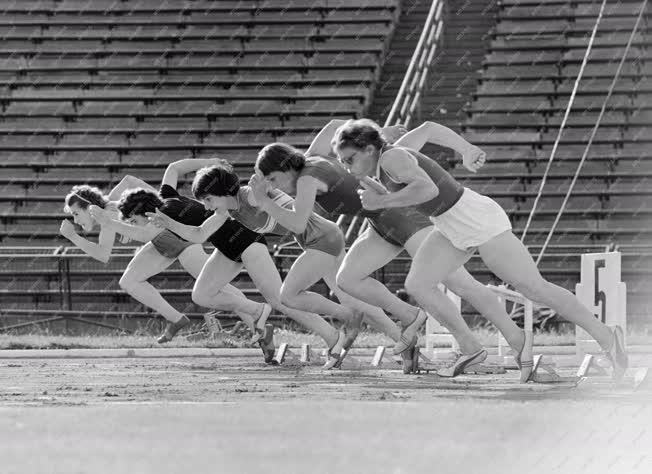 Sport - Atlétika - 100 méteres női síkfutás