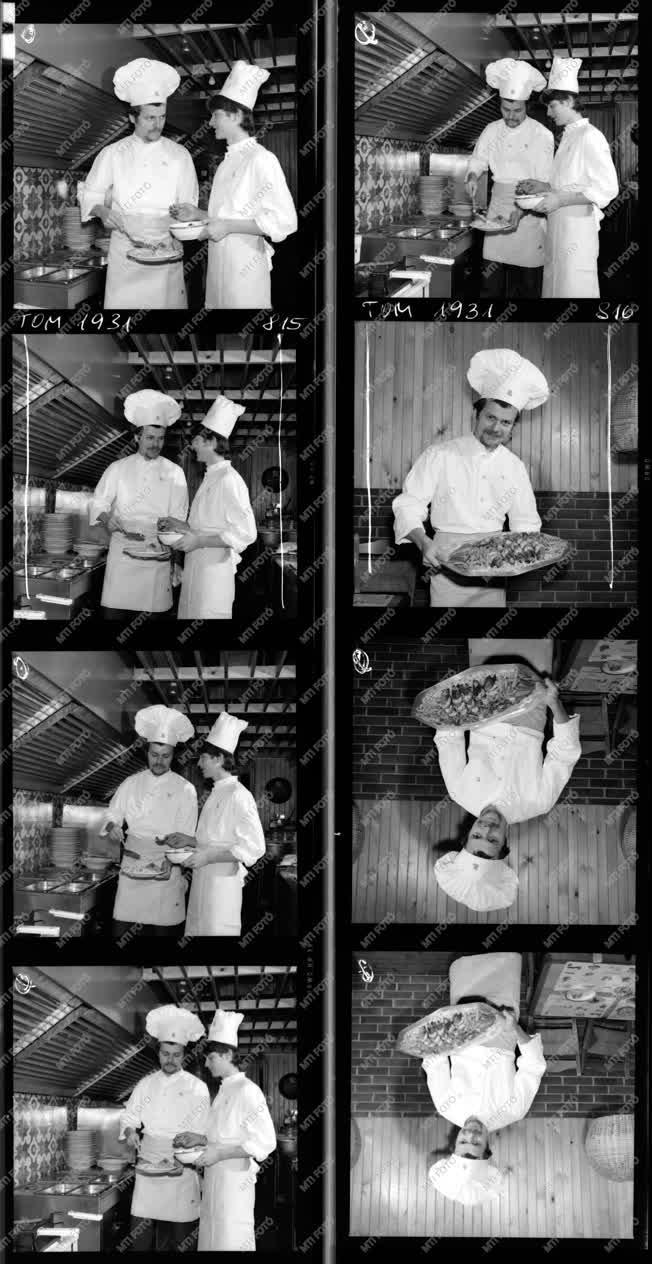 Kereskedelem - Szegedi szálloda konyhája