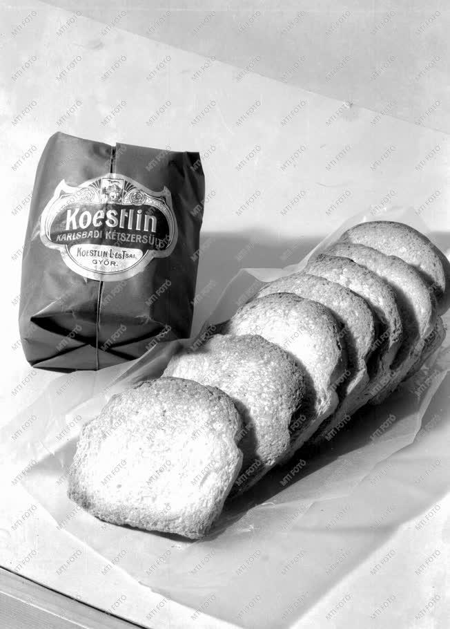Gazdaság - Élelmiszeripar - Koestlin-kétszersült