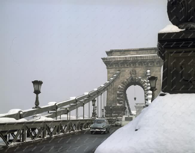 Városkép - Időjárás - Havas Budapest