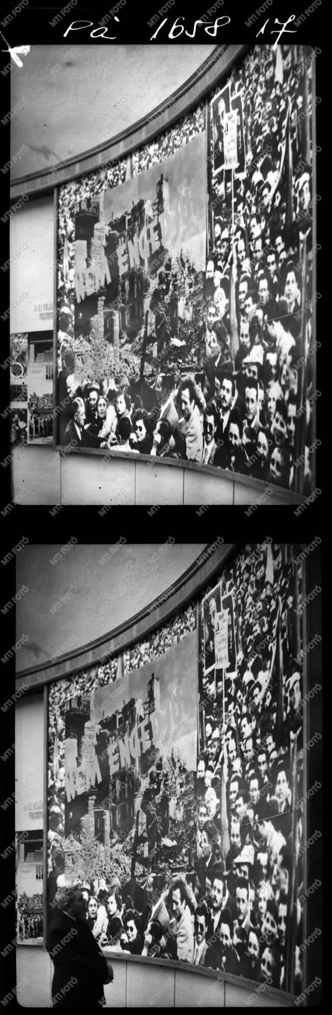 Kiállítás - Hazafias Népfront album - II. világháború